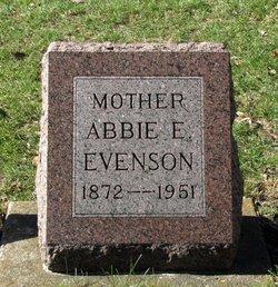 Abbie E. Evenson
