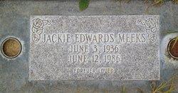 Jacqueline Edwards Jackie <i>Edwards</i> Meeks