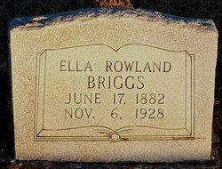 Ella <i>Rowland</i> Briggs