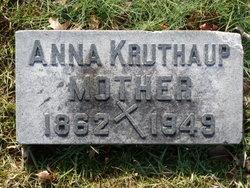Anna Maria <i>Estermann</i> Kruthaup