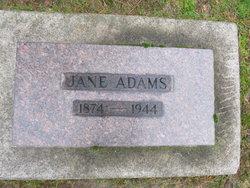 Jane C. <i>Smith</i> Adams