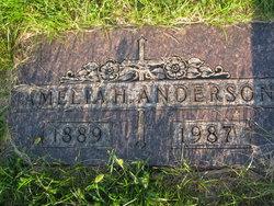 Amelia H. <i>Moseman</i> Anderson