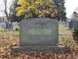 Eva E. <i>Ford</i> Brown
