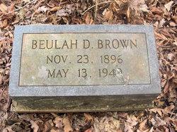Beulah D. Brown