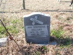 Ava <i>Stephens</i> Hilliard