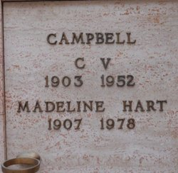 Madeline <i>Hart</i> Campbell