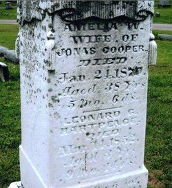 Amelia W <i>Hartpence</i> Cooper