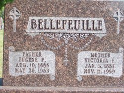 Victoria F. <i>Valley</i> Bellefeuille