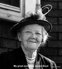 Agnes L Boyd