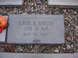 Bertie Lee <i>Rich</i> Horton