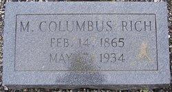 M. Columbus Rich