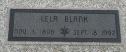Lela <i>Hurst</i> Blank