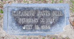 Elizabeth M <i>Davis</i> Bell