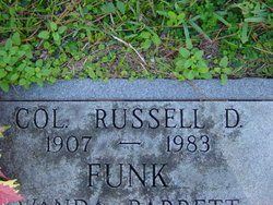 Col Russell D Funk