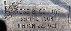 Rose T <i>Beckner</i> Collins