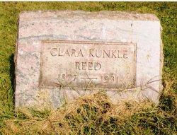 Clara <i>Kunkle</i> Reed