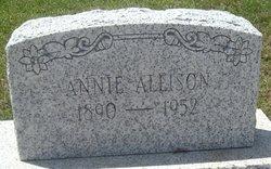 Annie <i>McKean</i> Allison