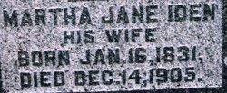 Martha Jane <i>Iden</i> Hartpence