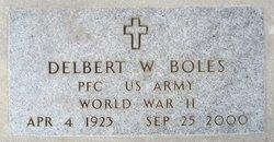PFC Delbert W. Boles