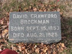 Dr David Crawford Brockman