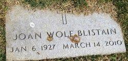 Joan <i>Wolf</i> Blistain