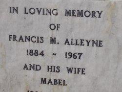 Dr Francis Milton Osborne Frank Alleyne