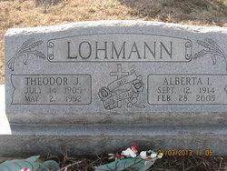 Alberta Ida Emilie <i>Panzer</i> Lohmann