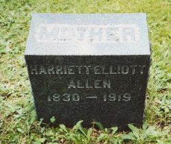 Harriette A. <i>Elliott</i> Allen