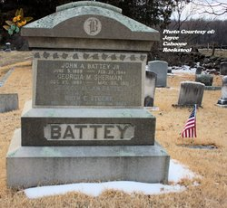 Georgia M <i>Sherman</i> Battey