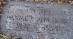 Minnie M <i>Hope</i> Alderman