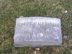 Robert F. Alexander