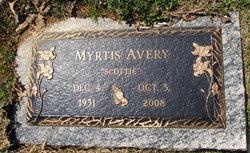 Myrtis Scottie <i>Yearco Joiner</i> Avery