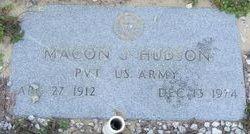 Macon J Hudson