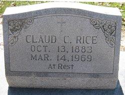 Claude C Rice