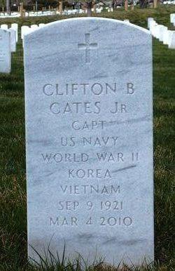 Capt Clifton Bledsoe Clif Cates, Jr