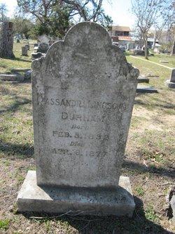 Cassandra <i>Lincecum</i> Durham