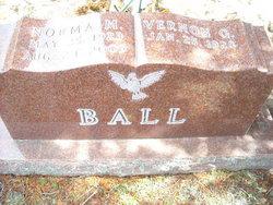 Norma M <i>Utz</i> Ball