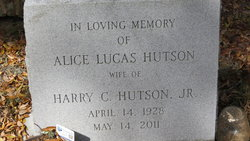 Alice Vaughan <i>Lucas</i> Hutson