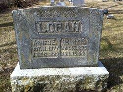 Agnes E <i>Hower</i> Lorah