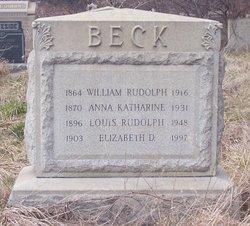 Louis Rudolph Beck, Sr