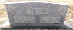 John W Peek