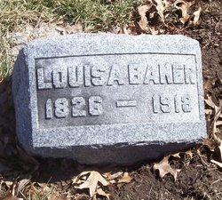Louisa <i>Hicks</i> Baker