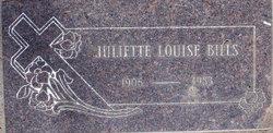 Juliette Louise <i>Eberhard</i> Bills