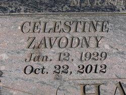 Celestine <i>Zavodny</i> Hackworth