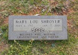 Mary Louise <i>Sanders</i> Shroyer