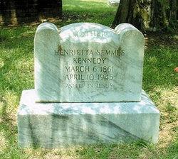 Henrietta Julia <i>Semmes</i> Kennedy
