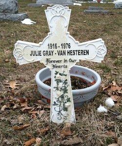 Julia Ellen <i>Watts-Gray</i> Van Hesteren