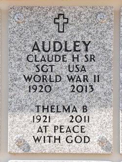 Claude H Audley, Sr