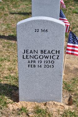 Jean <i>Beach</i> Lengowicz