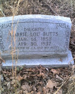 Carrie Lou Butts